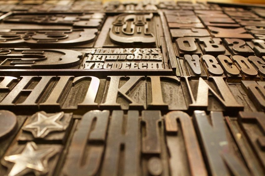 Factors that affect the selection of types in typography
